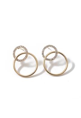 Double Round Earrings